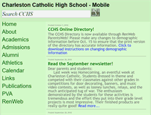 Tablet Preview of charlestoncatholic-crw.org